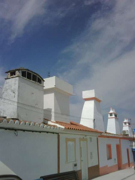 Amazing chimneys in Portugal