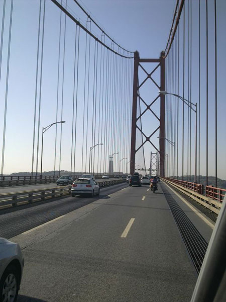 heading south in Portugal