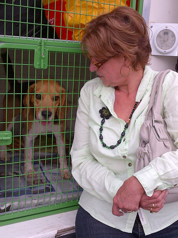 Pepito with his grandma who's been taking care of him — Alex is waiting for Pepito in the UK