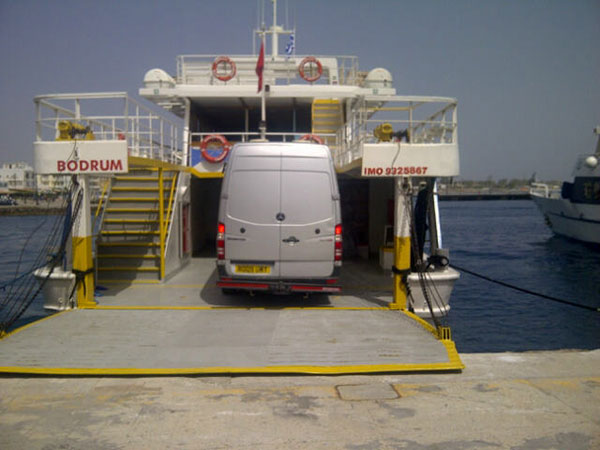 Our personal ferry