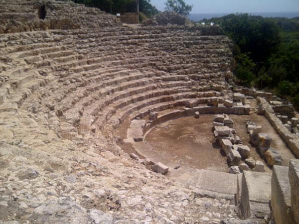 A very fine amphitheatre