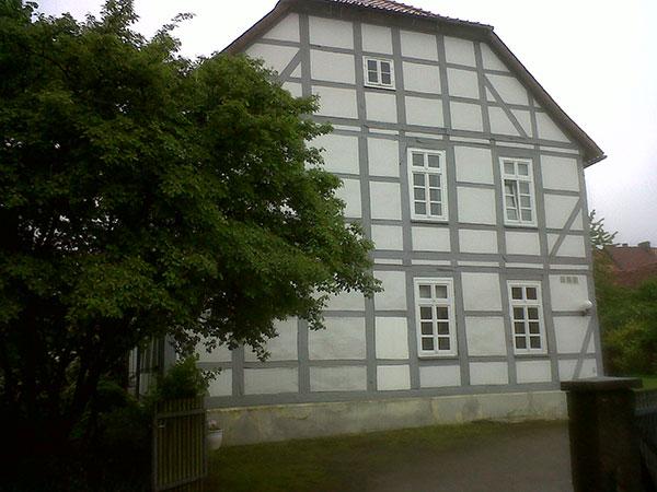 Fudge's new 200-year-old home in Springe