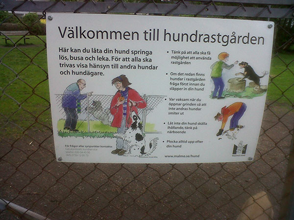 Hopefully Alice understood the rules — courier S's Swedish is somewhat limited!