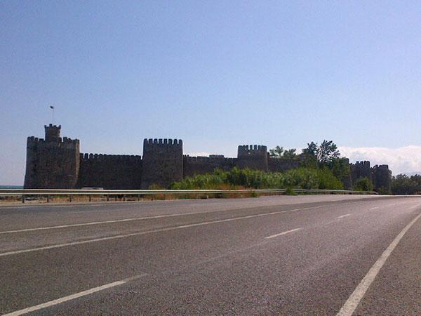 A sprawling old fort