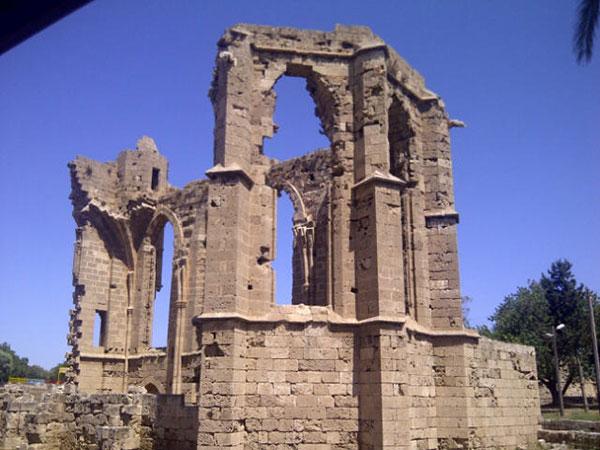 Crumbling church