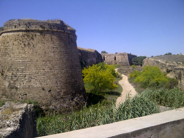 Fortifications as far as the eye can see