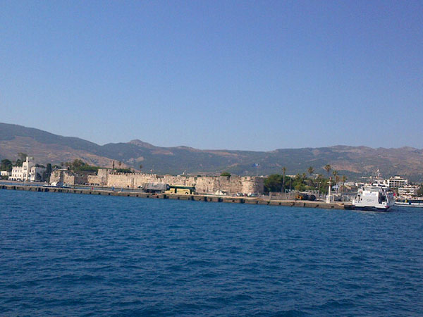 The castle of the knights of St John on Kos