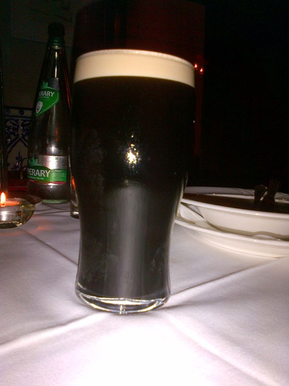 After a long day, a very welcome taste of Ireland