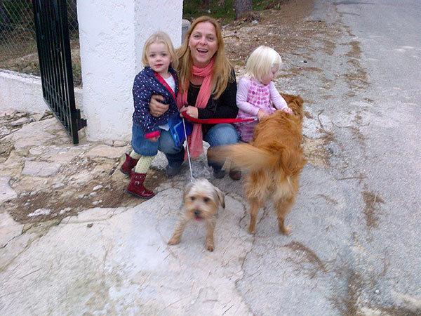 Meanwhile, in Spain, Teddy and Lola were very excited to be reunited with Joanne, Ines and Cassie