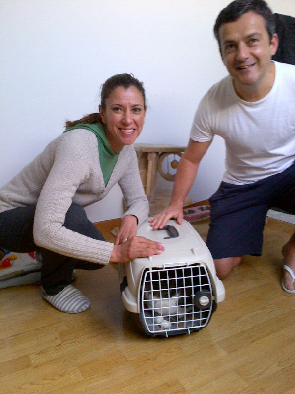 Gaby with Demetrio and Ligia