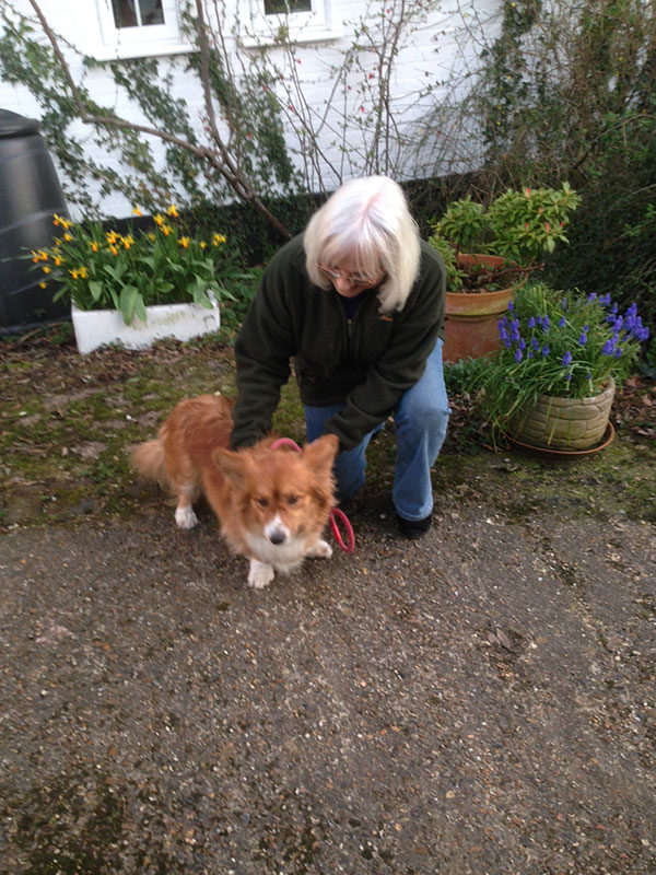 Betsy was welcomed by her new owners in Kent, where she'll have the run of a lovely garden in the heart of the countryside.
