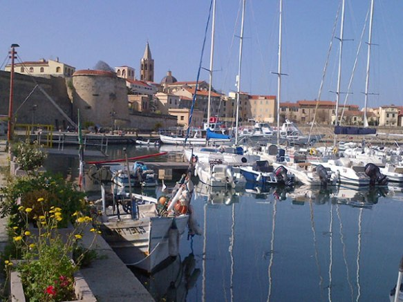 Due to its strategic position in the Mediterranean sea, Alghero was built around a fortified port. Uniquely in Italy, Catalan is one of the official languages in the city.
