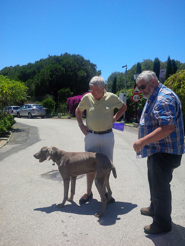 Jake is reunited with Cyril and family