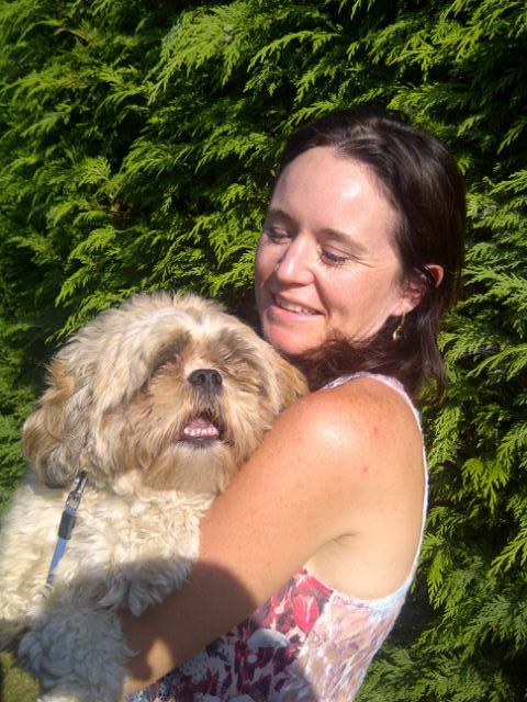 Bolt was reunited with Emer in sunny Surrey and both were delighted to see each other again