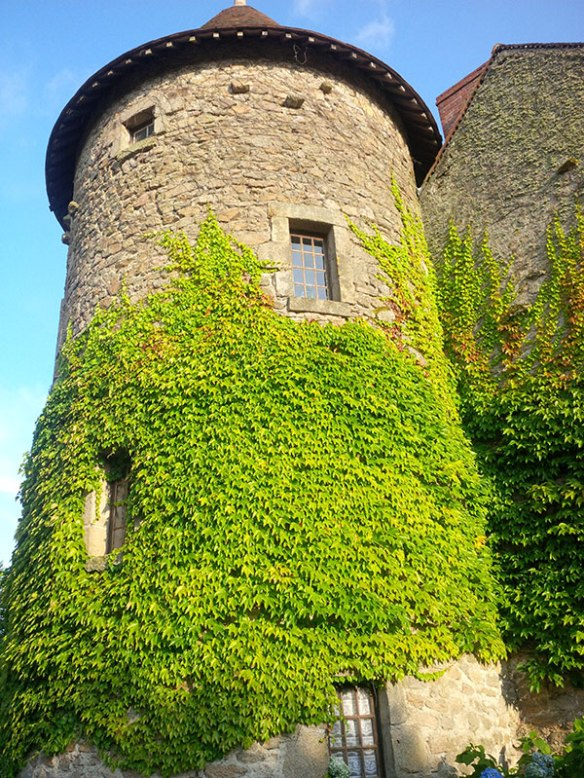 This tower is part of the converted ancient building that was our hotel for the night in Limoges