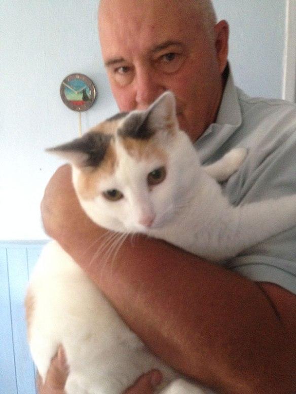 A big hug for Maisie