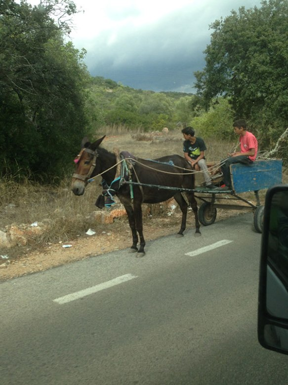 The usual traffic jams on Portugal's roads