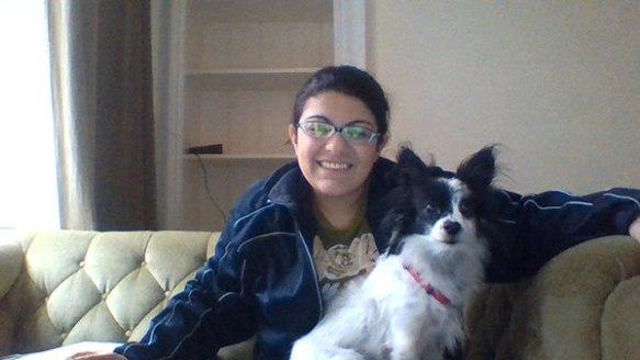 Suzana with Angeliki...