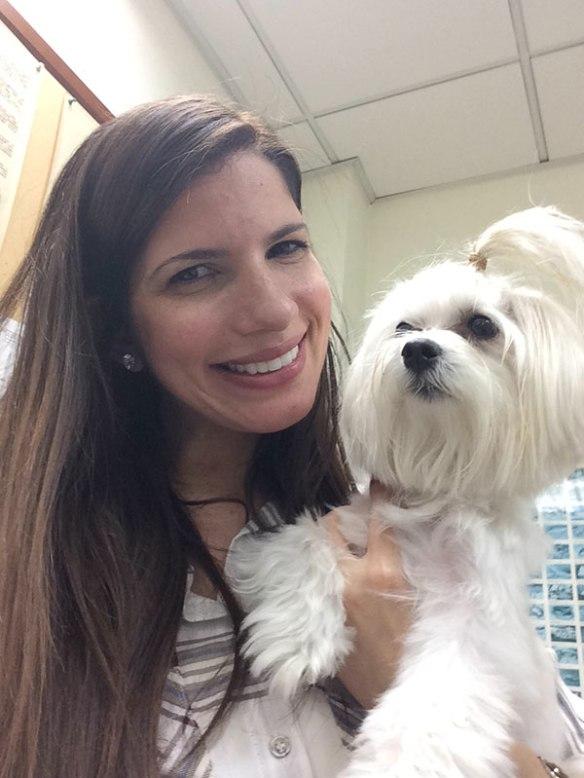 Nina reunited with her owner Alynne in Hong Kong