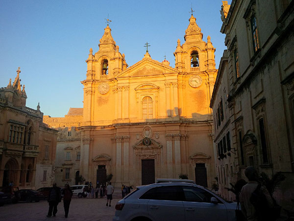 St Paul's Cathedral in Mdina