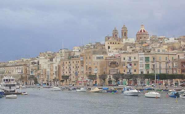 We took a boat trip around Malta's famous Valetta harbour, flanked by castles built by the Knights Templars in the 1500s