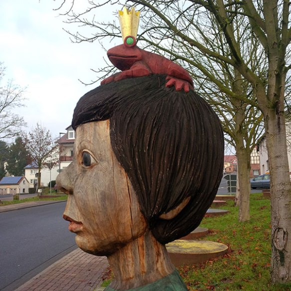 We were very taken with this piece of street sculpture. There must be a fable or fairytale to go with it!