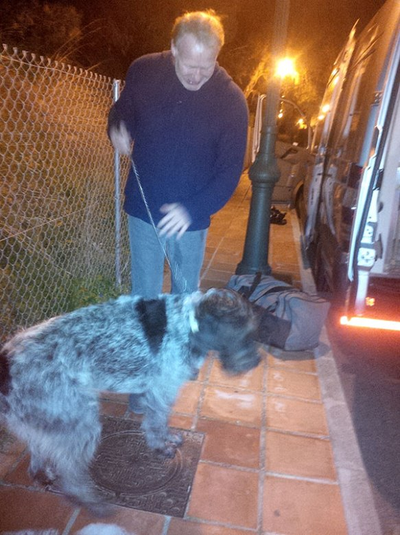 Reunion in Nerja for Louis with Morris, who'd missed Louis and was interested to hear how he'd travelled