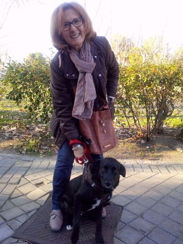Felipe with his 'grandma' Aurelia