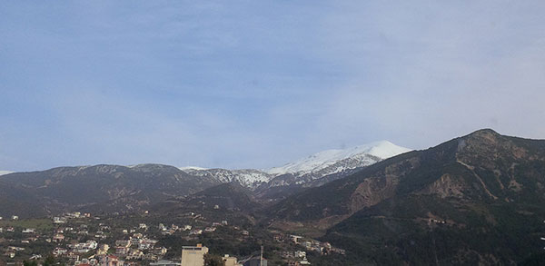 Patras in the snow
