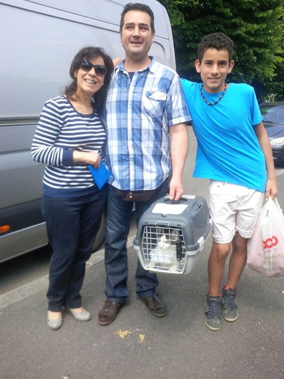 Sebastiana, Massimo and Joseph bring us Delia's cat Leo