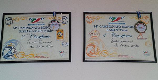 Awards on the walls of the Cantina di Ale's breakfast room. And in the kitchen, photos of chefs past and present and all their families. A super place where simplicity and good food prevail.
