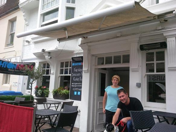 The Brighton Rocks bar