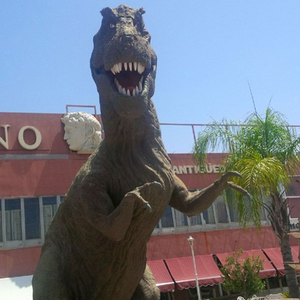And this one — a Tyrannosaurus Rex maybe?