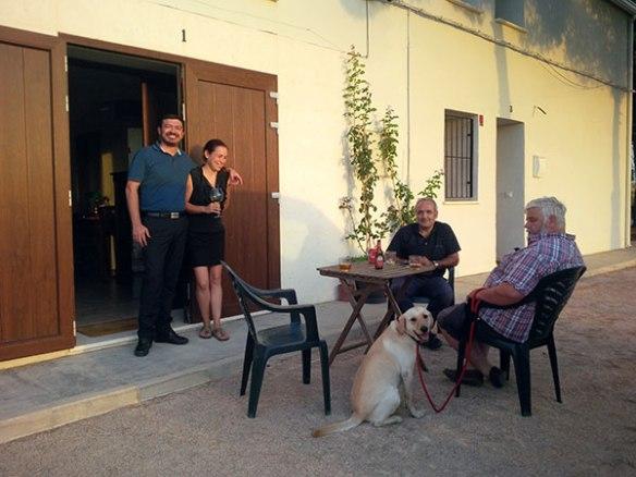 Hanging out at the Casa Rural El Arrullo